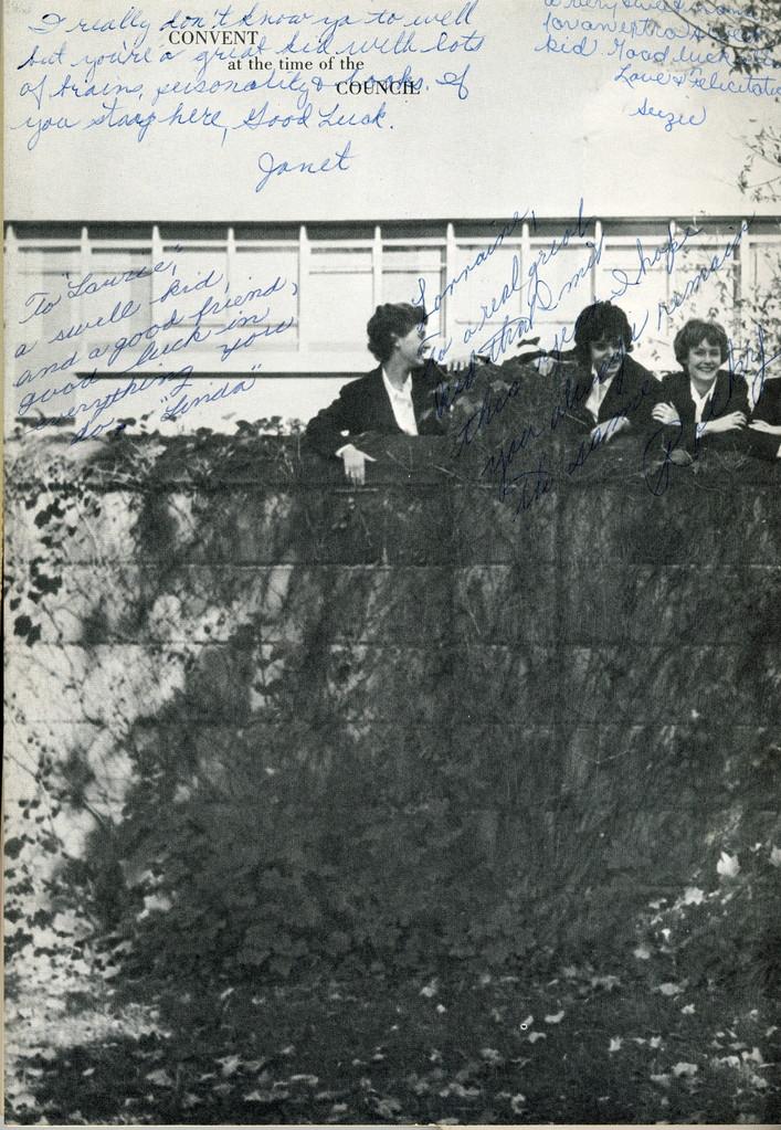 Convent School, 1966