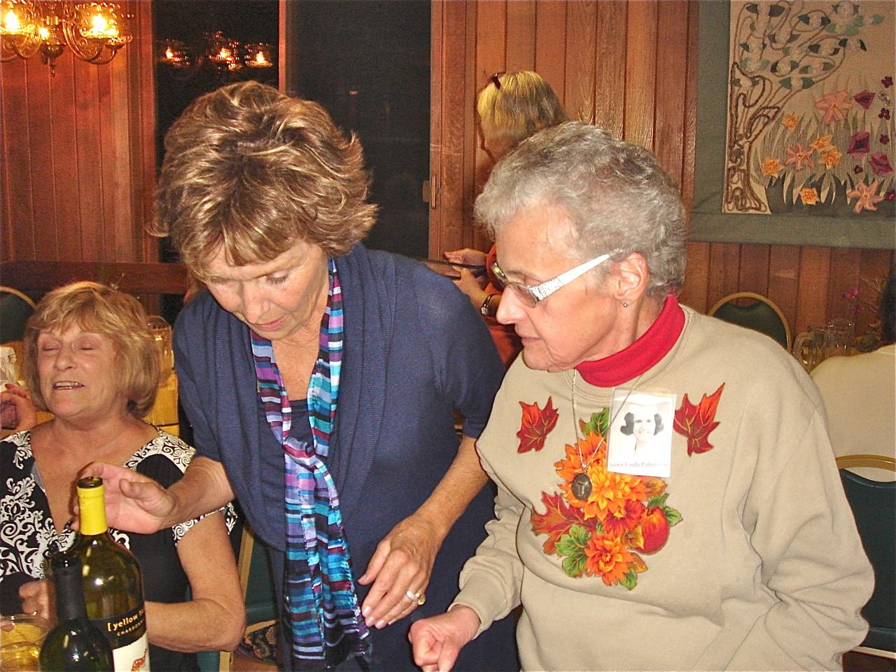 Janet  Hovey & Linda Palmisano