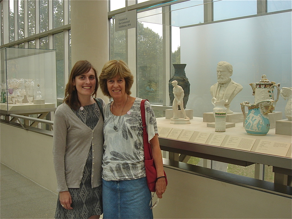 Anna & Nancy at the Met, American Wing 9-9-2012