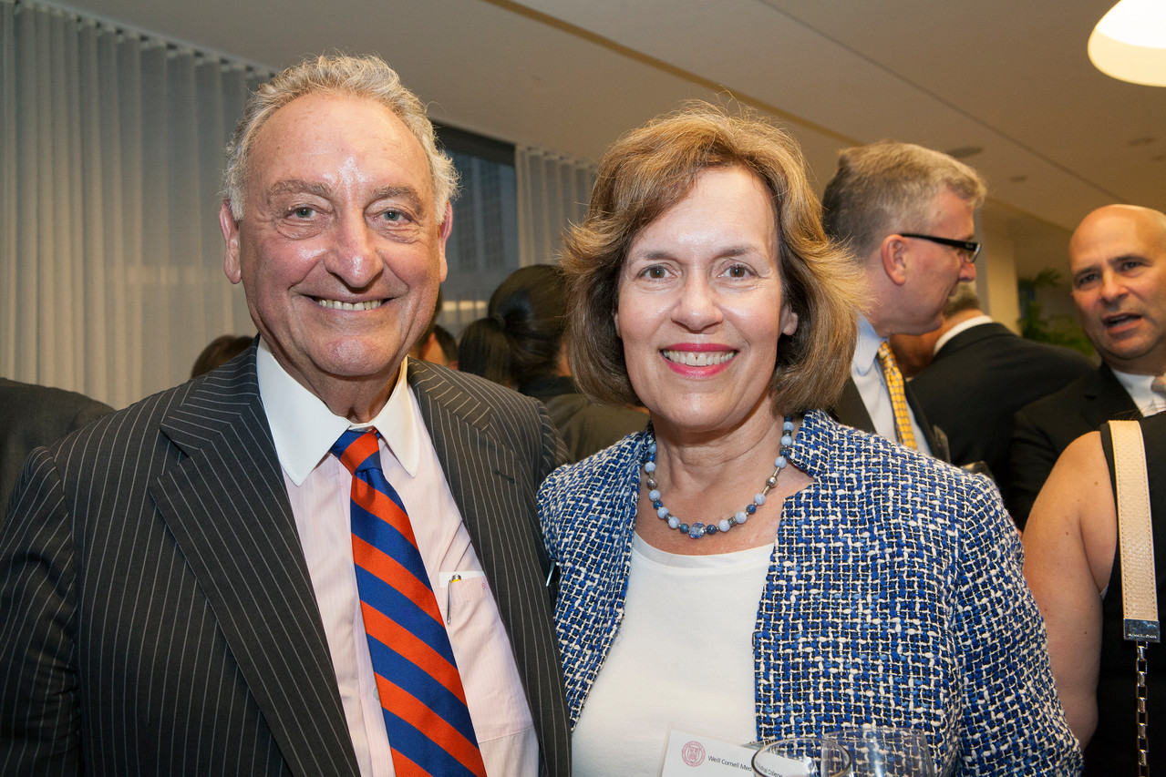 Mr. Sandy Weill & Lorraine Gudas, Sept., 2013 Board of Overseers Meeting