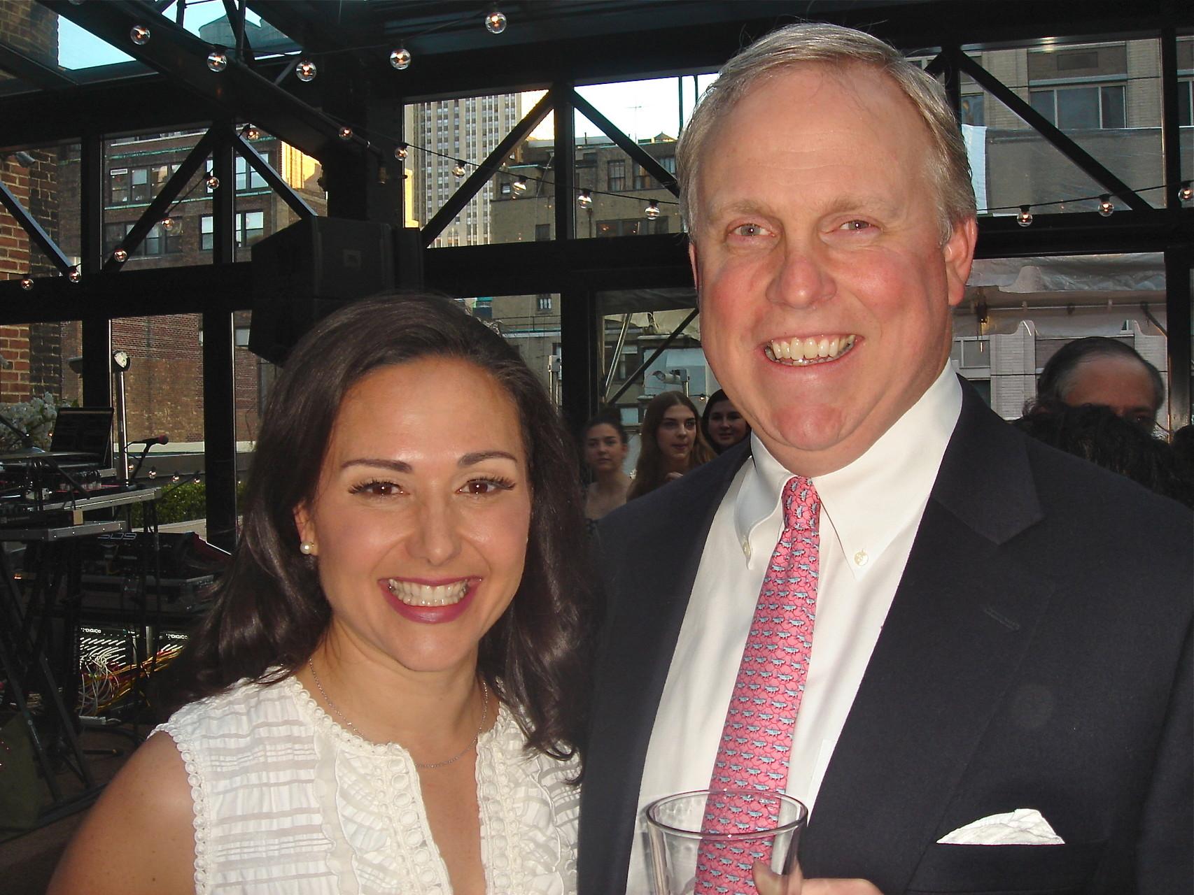 Allie and Stuart Kagel Jr.