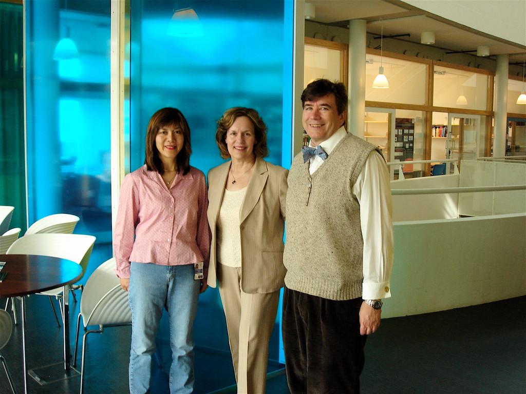Jenny Persson, Lorrraine Gudas, John Wagner   Malmo, Sweden 2010
