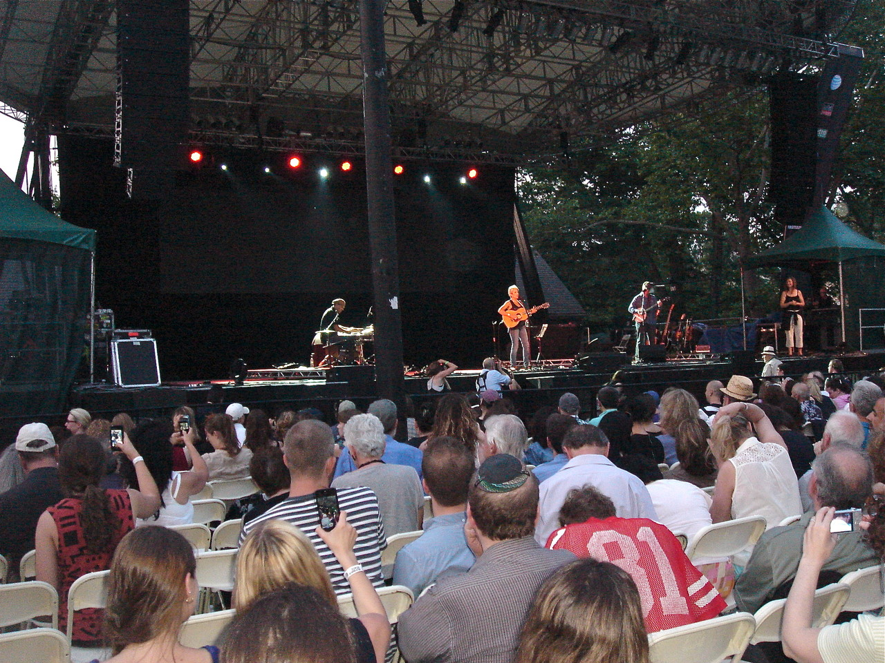 Joan Baez in Central Park, SummerStage, 6-17-2013
