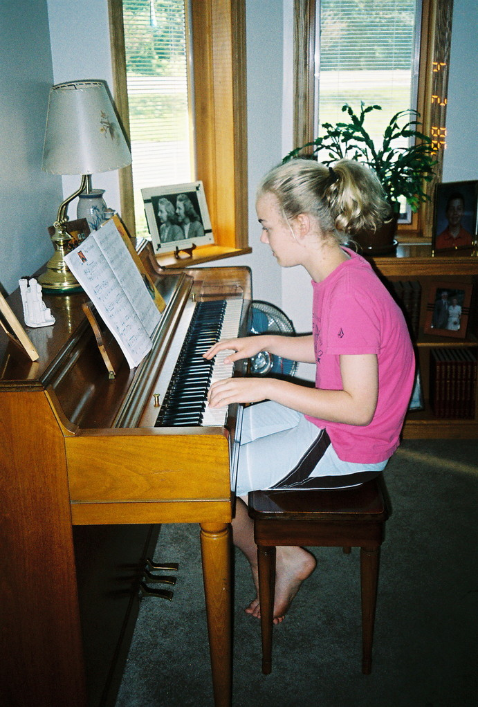 Kathleen Ackerman, Ann's daughter, 2004