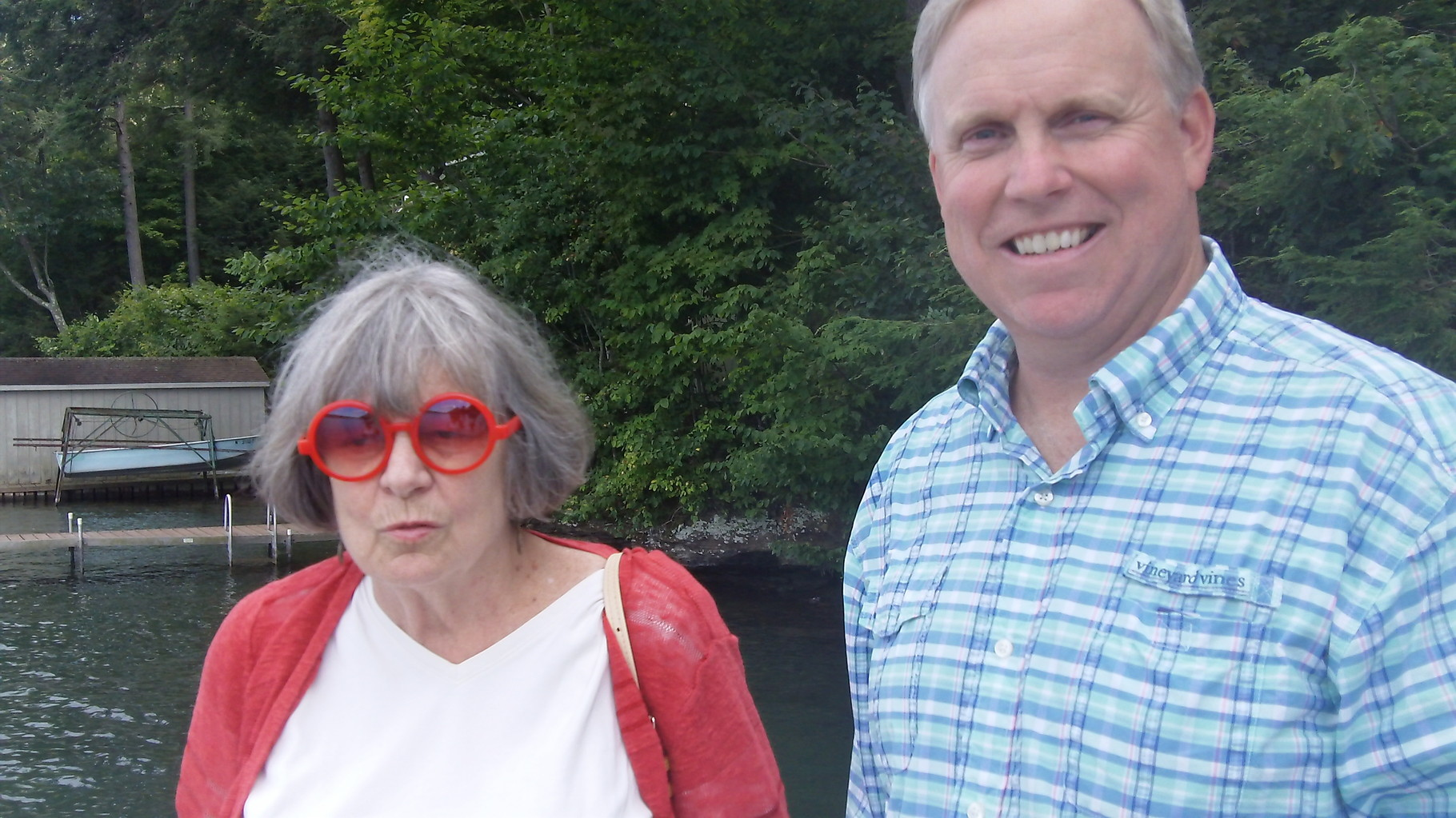 Kathy Hutchins and Stuart Kagel Jr, Skaneateles, Aug. 2015