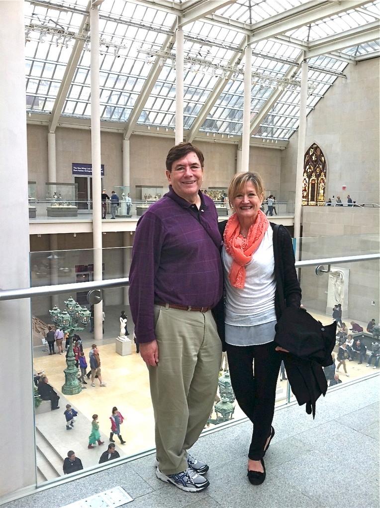 John & Sally Schwarz, May 25, 2013  NYC