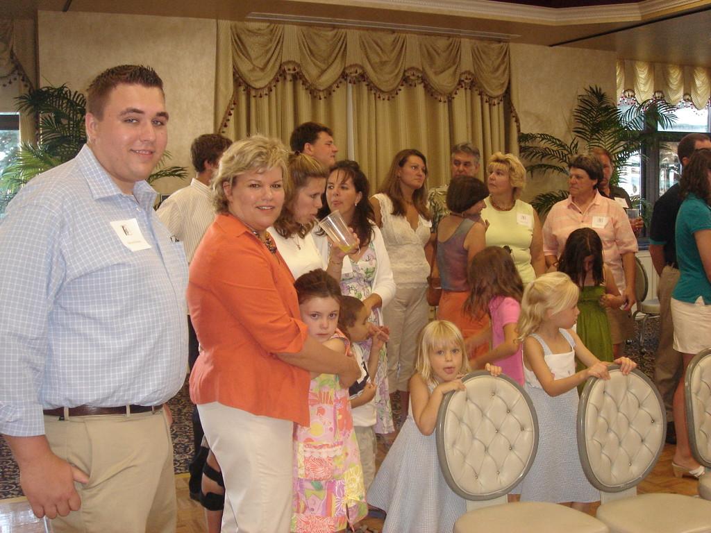 Lorraine & John's son Greg (Al's Grandson), Al's daughter Celeste, her daughter Kate, 6