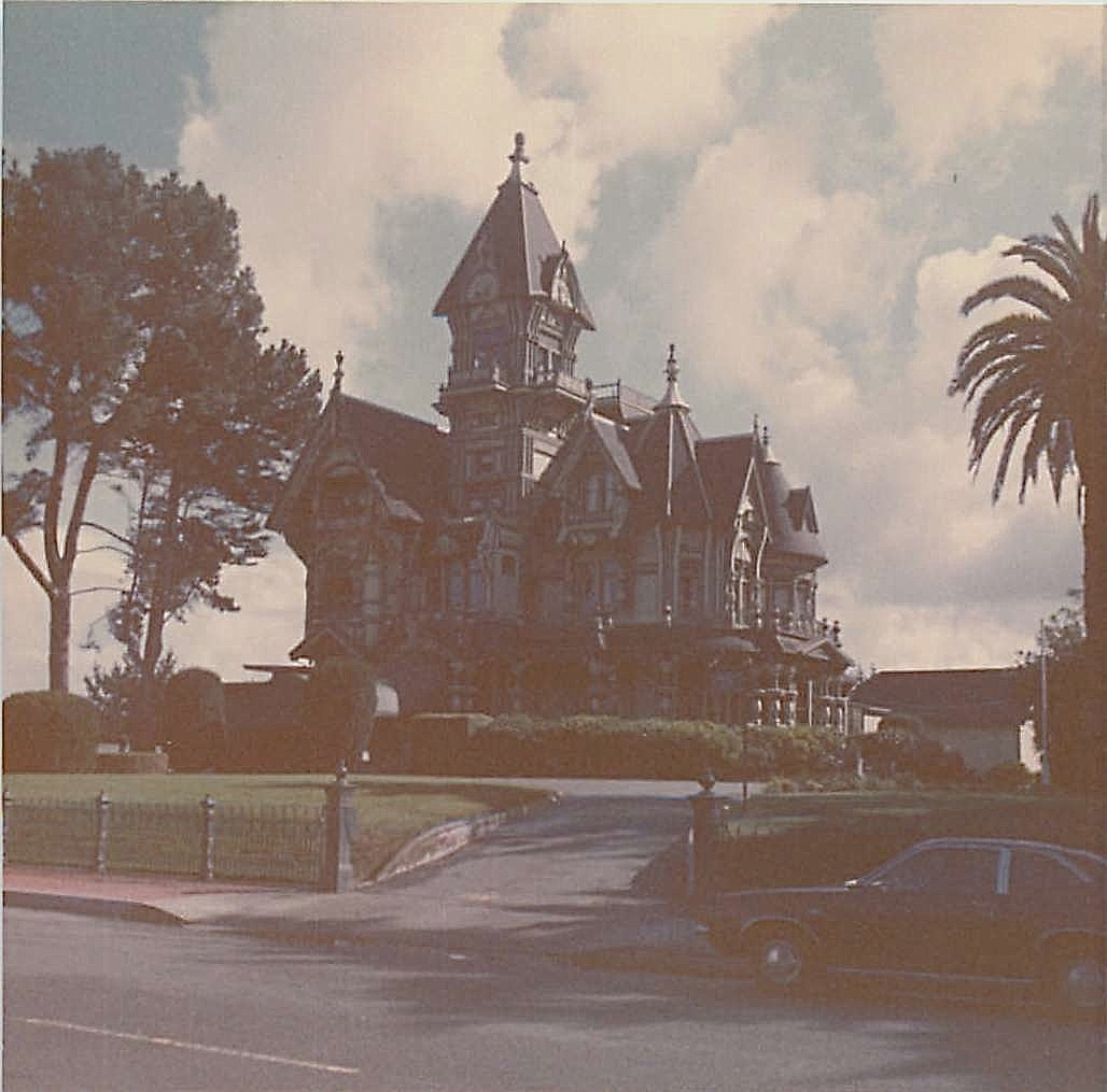 Beautiful Victorian house near Eureka, CA, near Mokuleme River, 1978