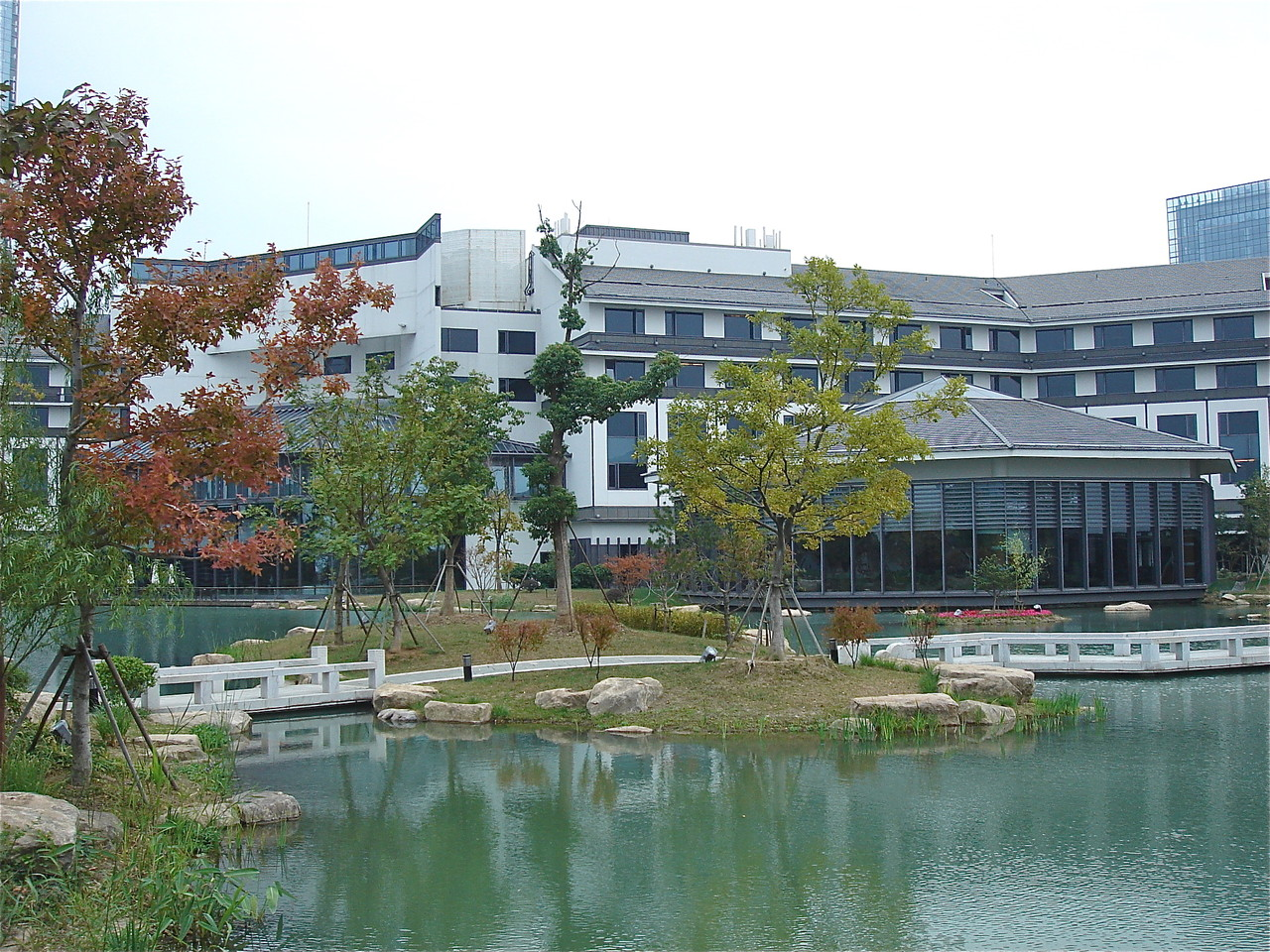 Cold Spring Harbor Asia Meeting at the Dushu Lake Hotel, Suzhou, China   Oct. 19-26, 2012