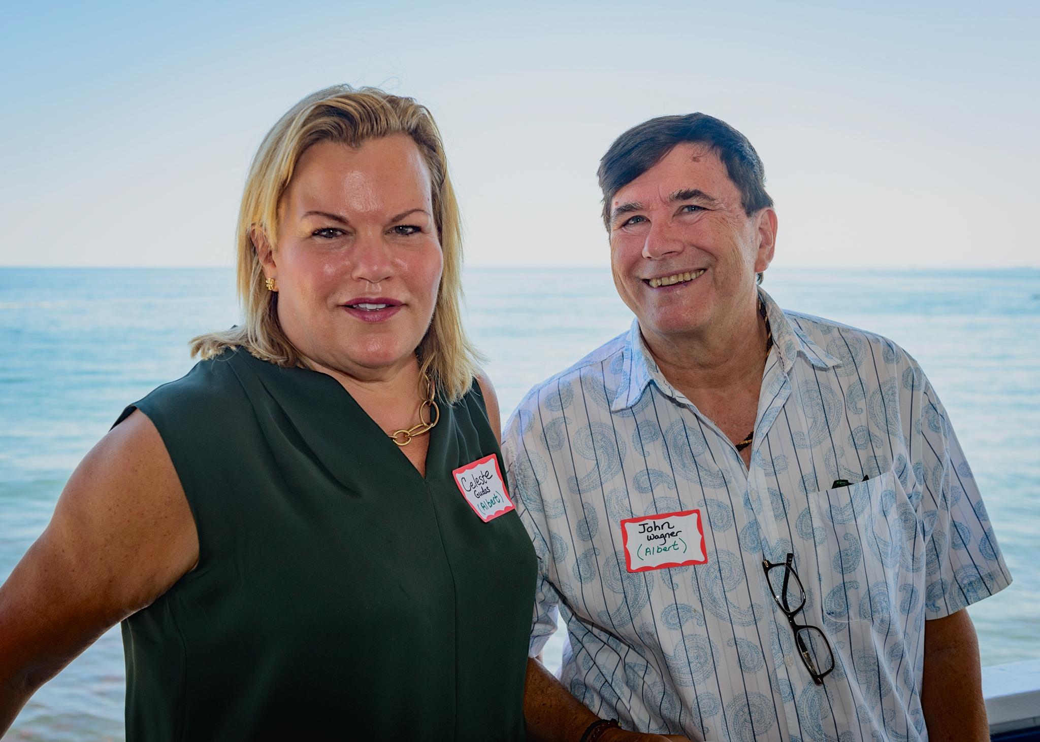 Celeste & John Wagner (Lorraine's partner)