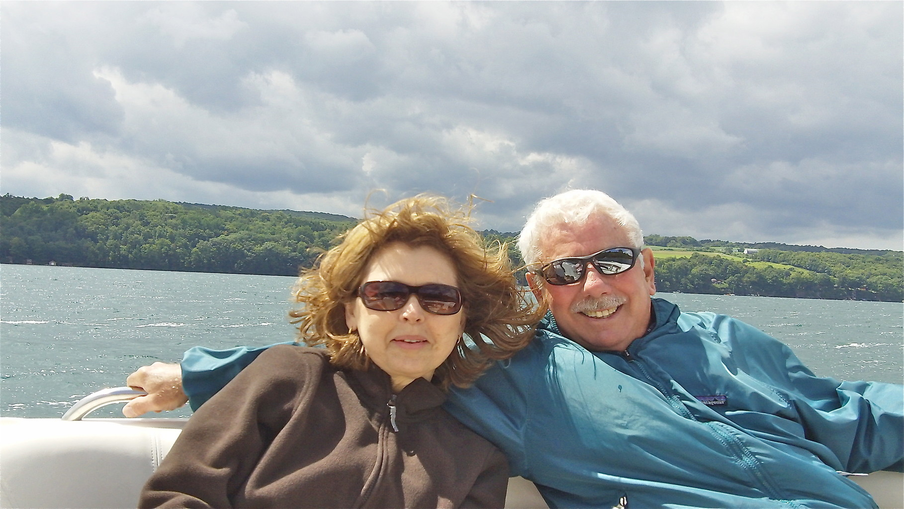 Pictures from 2014-15  Barbara & Don, Skaneateles Lake, August 14, 2014