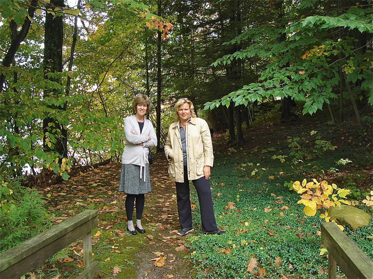 Nancy Hynes & Celeste, Oct. 2012