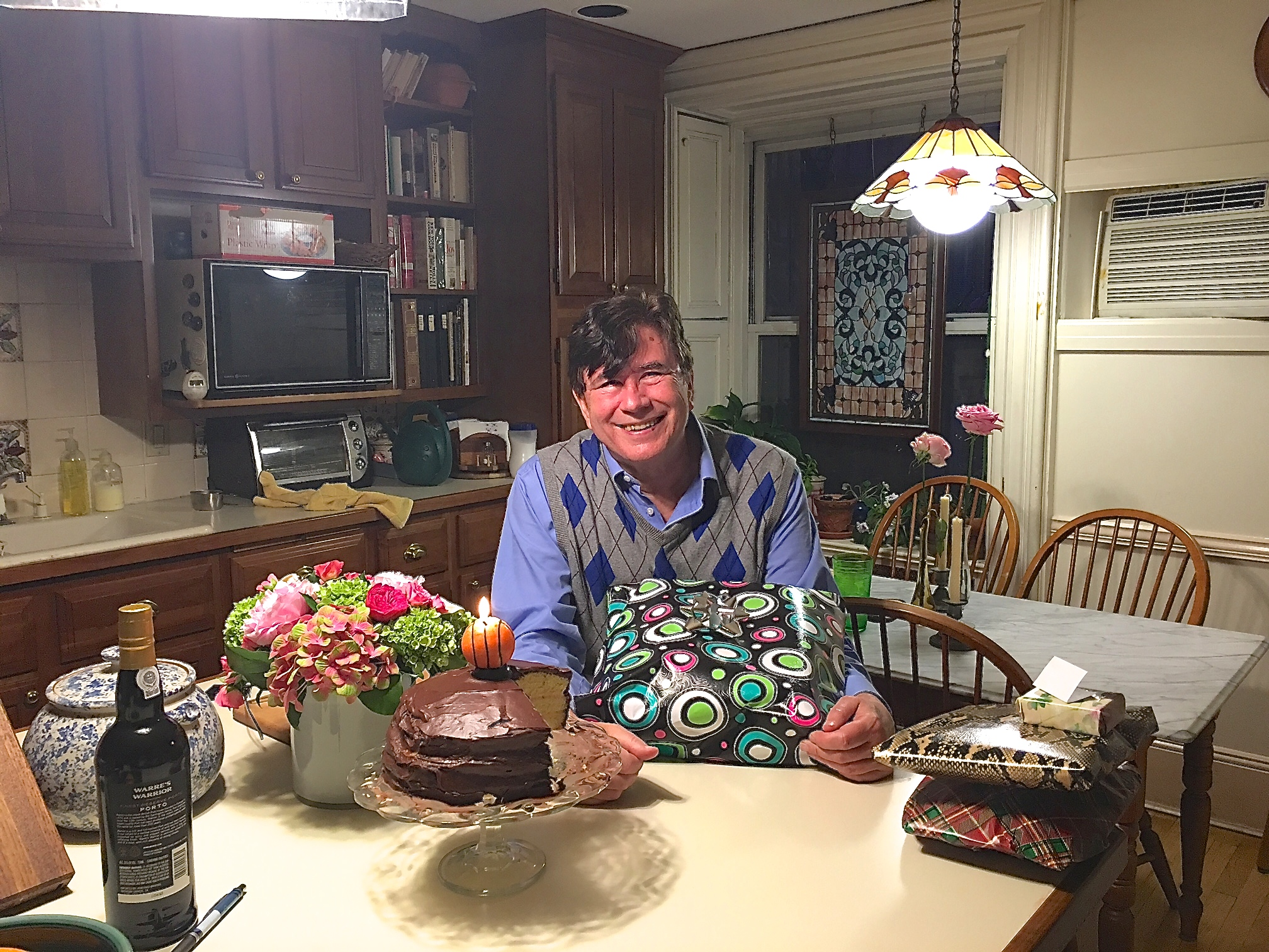 John on his birthday, May 13, 2016