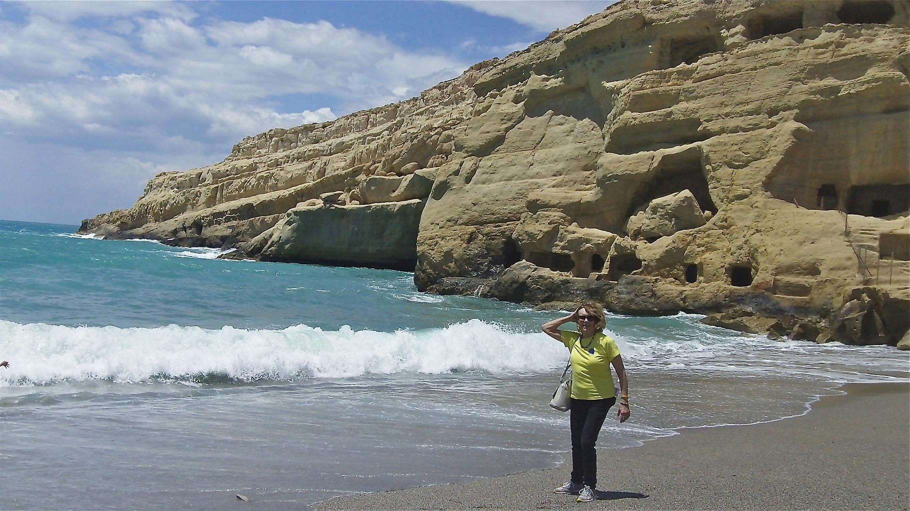 Lorraine, Matala Beach