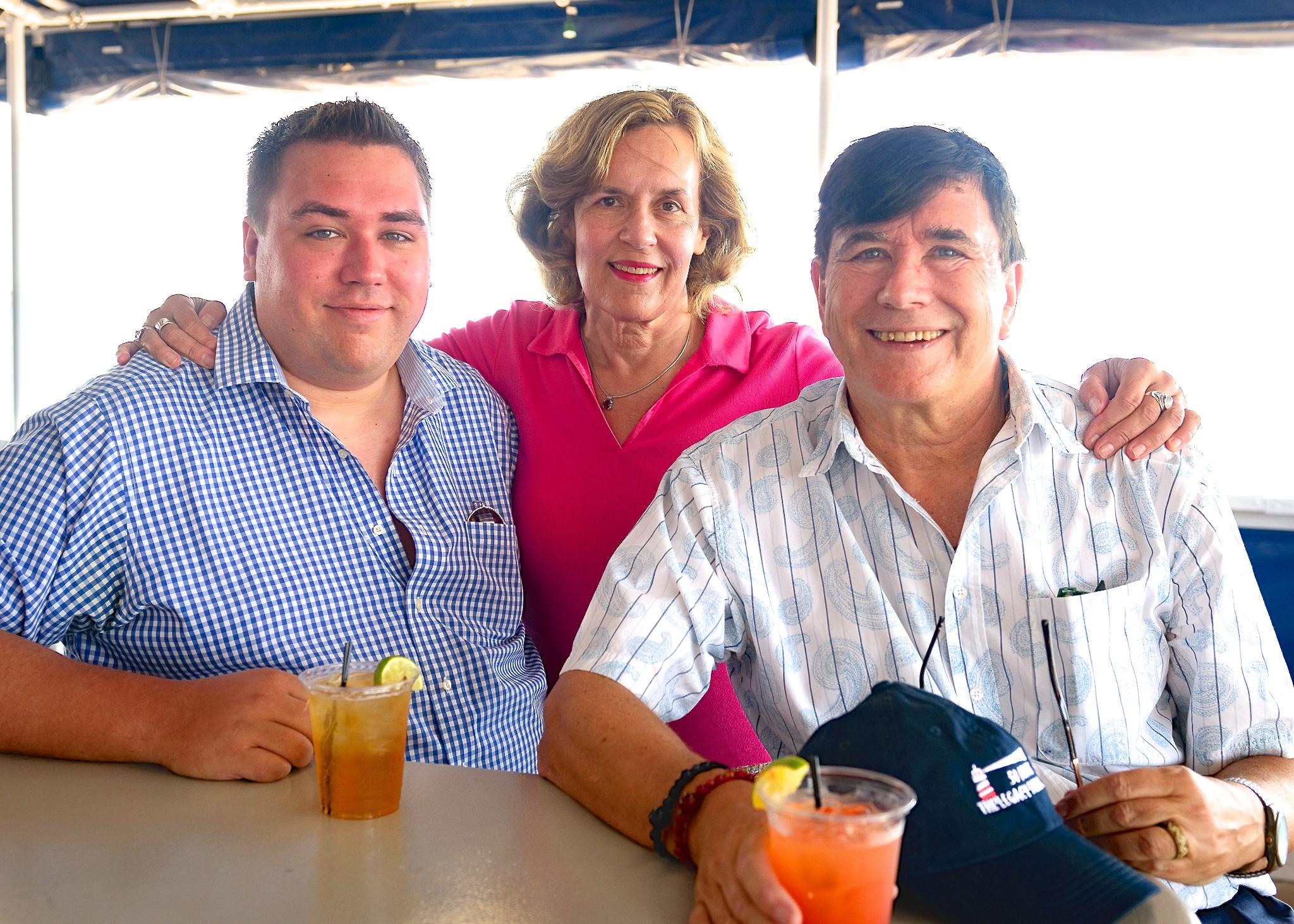 Greg Wagner, Lorraine Gudas, & John Wagner