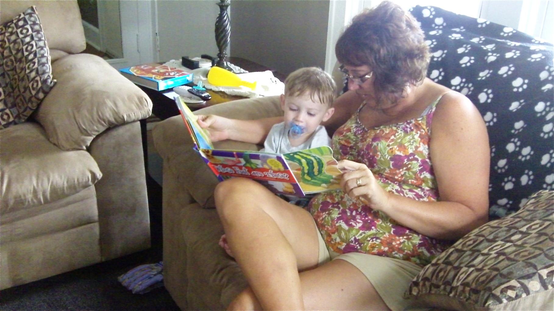 Jaxon & Grandma Jill Wagner