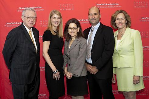 Drs. Herb Pardes, Laura Forese, Orli Etingen, Mark Lachs, Lorraine Gudas October, 2011