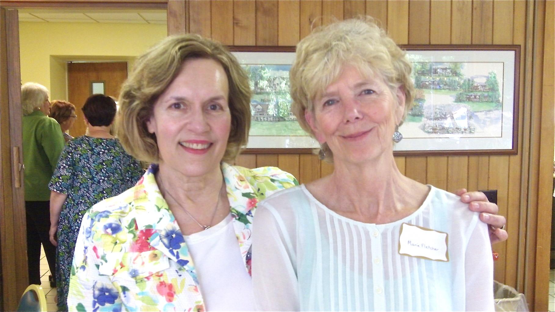 Lorrie (Lorraine) Gudas & Marie Fletcher Myer