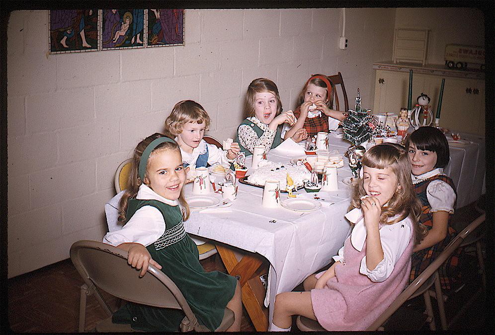 Celeste, 1963 B'day party