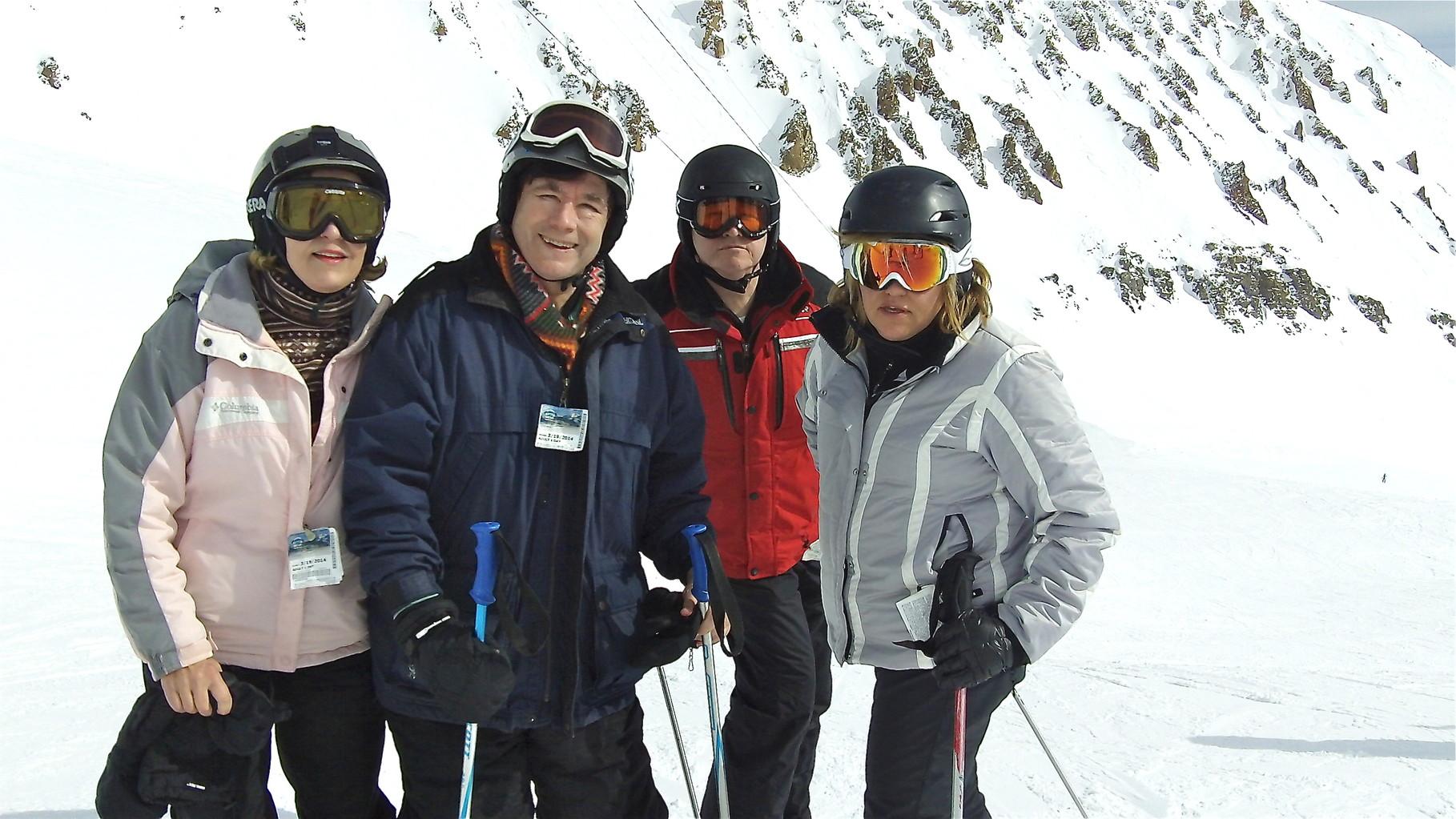 Lorraine, John, Jack Donohue, & Celeste