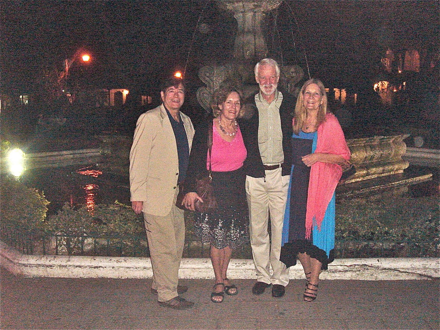 John, Lorraine, Don Bers & wife Kathy
