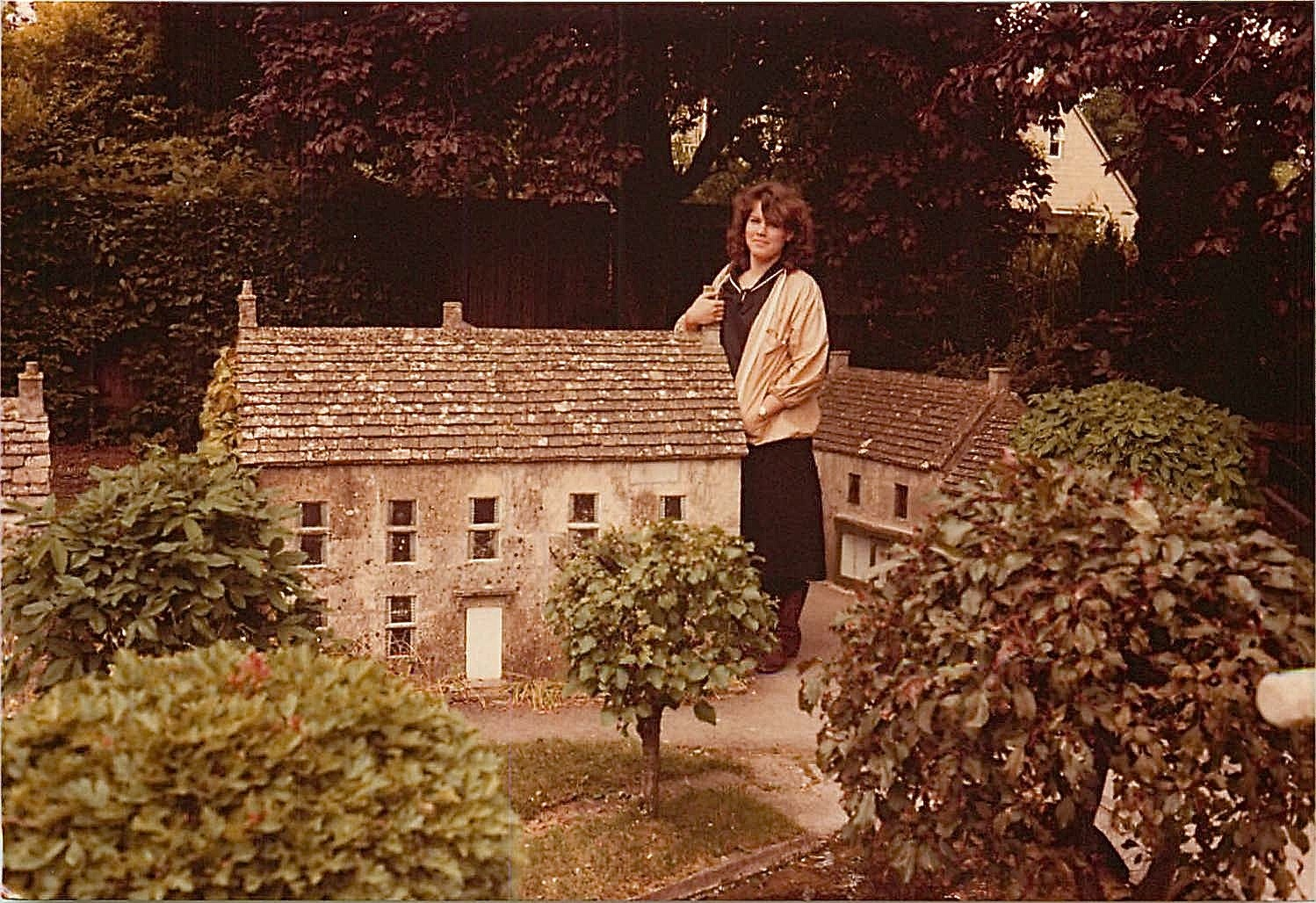 Celeste miniature village, Cotswolds, England, 1979-Lorraine visited Celeste