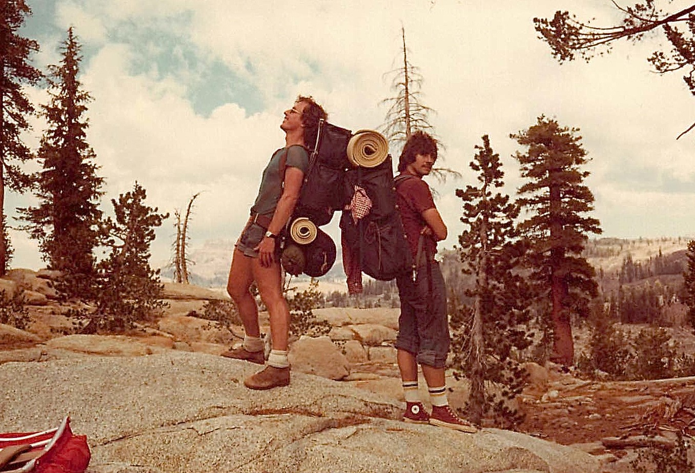 Peter STRONG & John Wagner, 1976 near Yosemite
