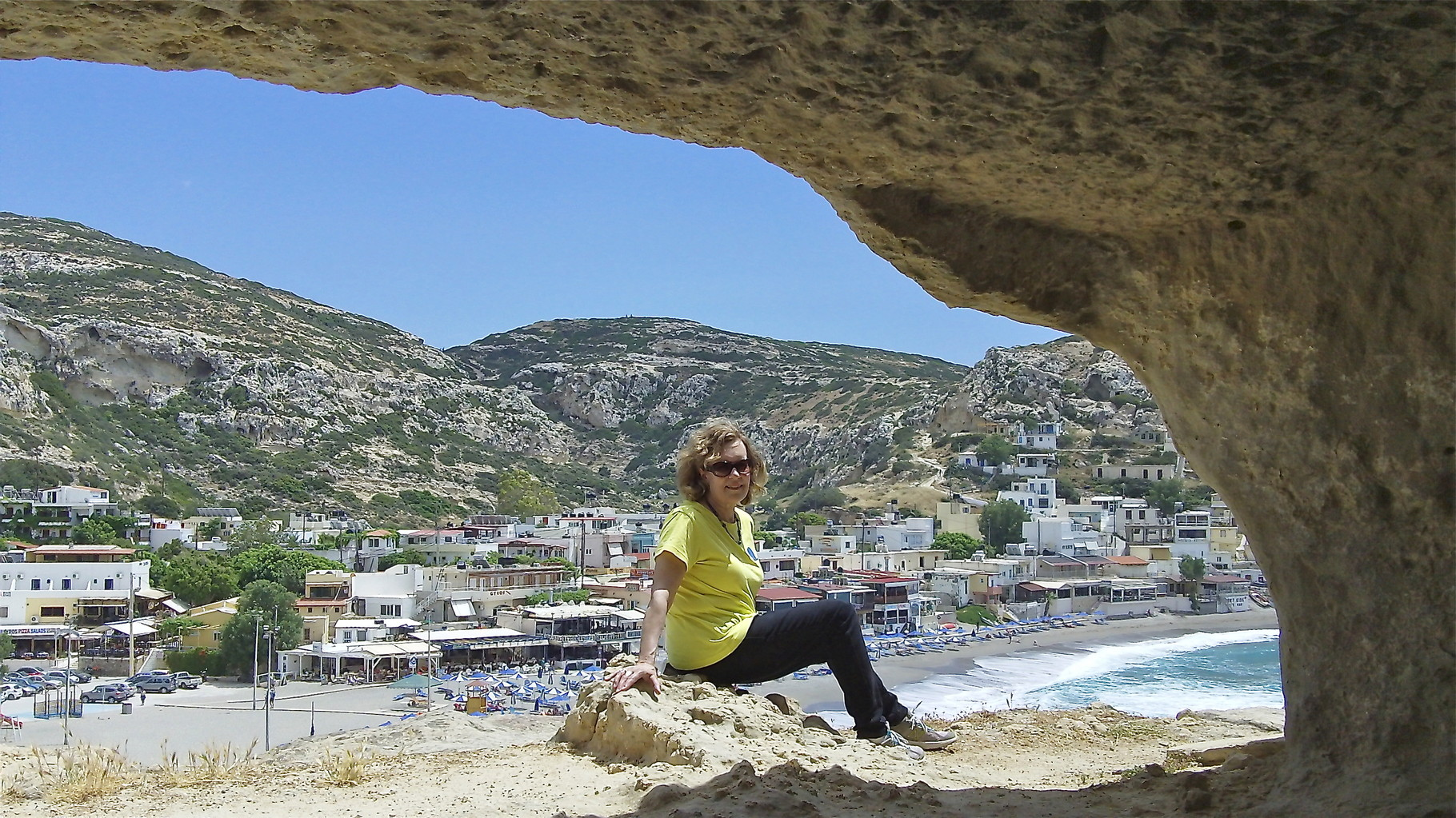 Lorraine in the caves, caves used as Roman burial sites near the beach