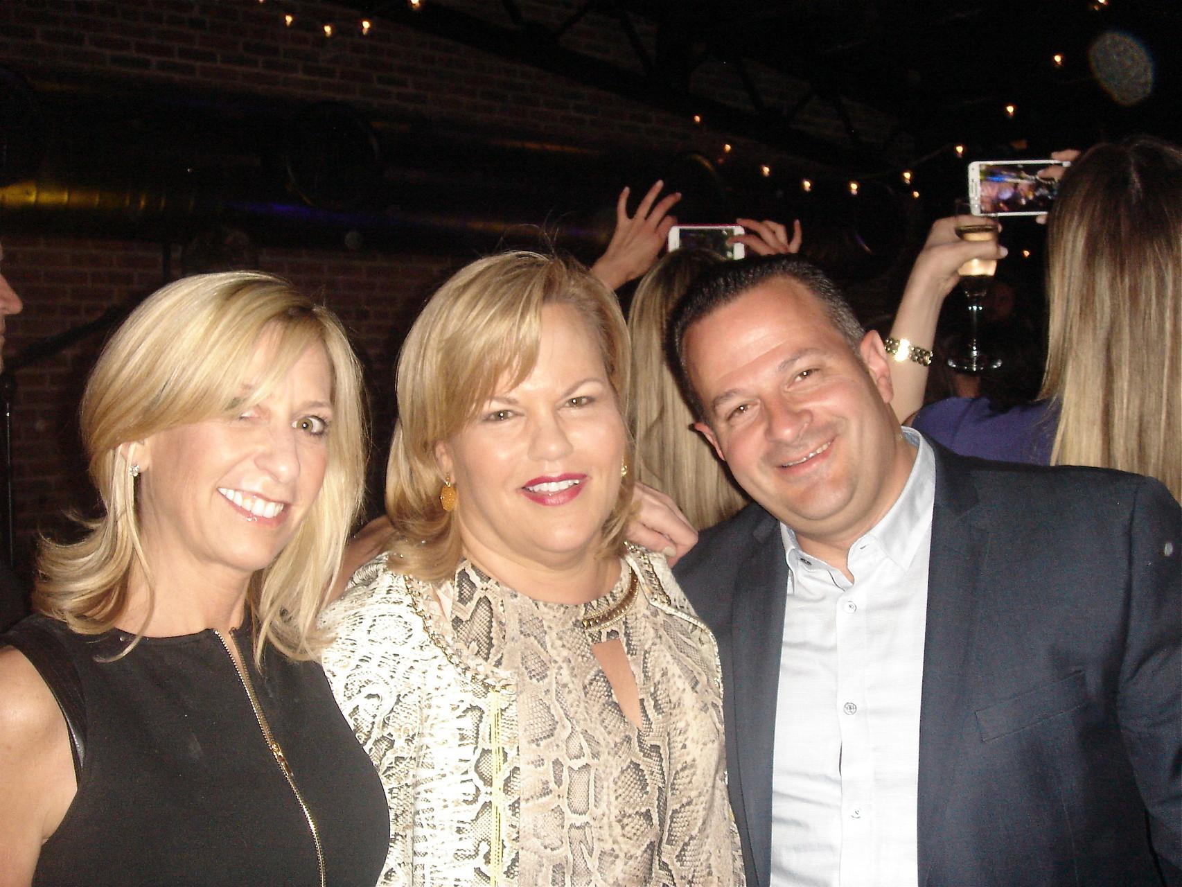 A friend, Celeste, & Anthony Donnarumma