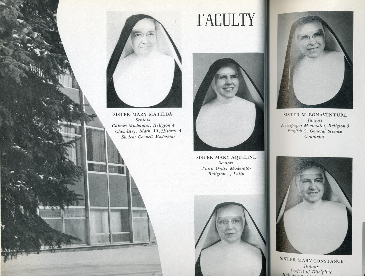 Convent School, Nuns!!