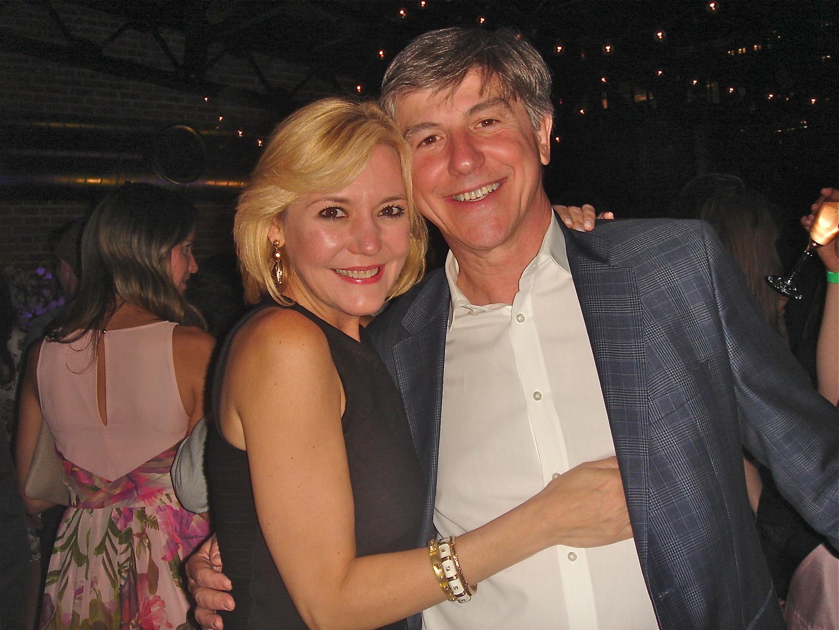 Ricardo Alvar & his wife
