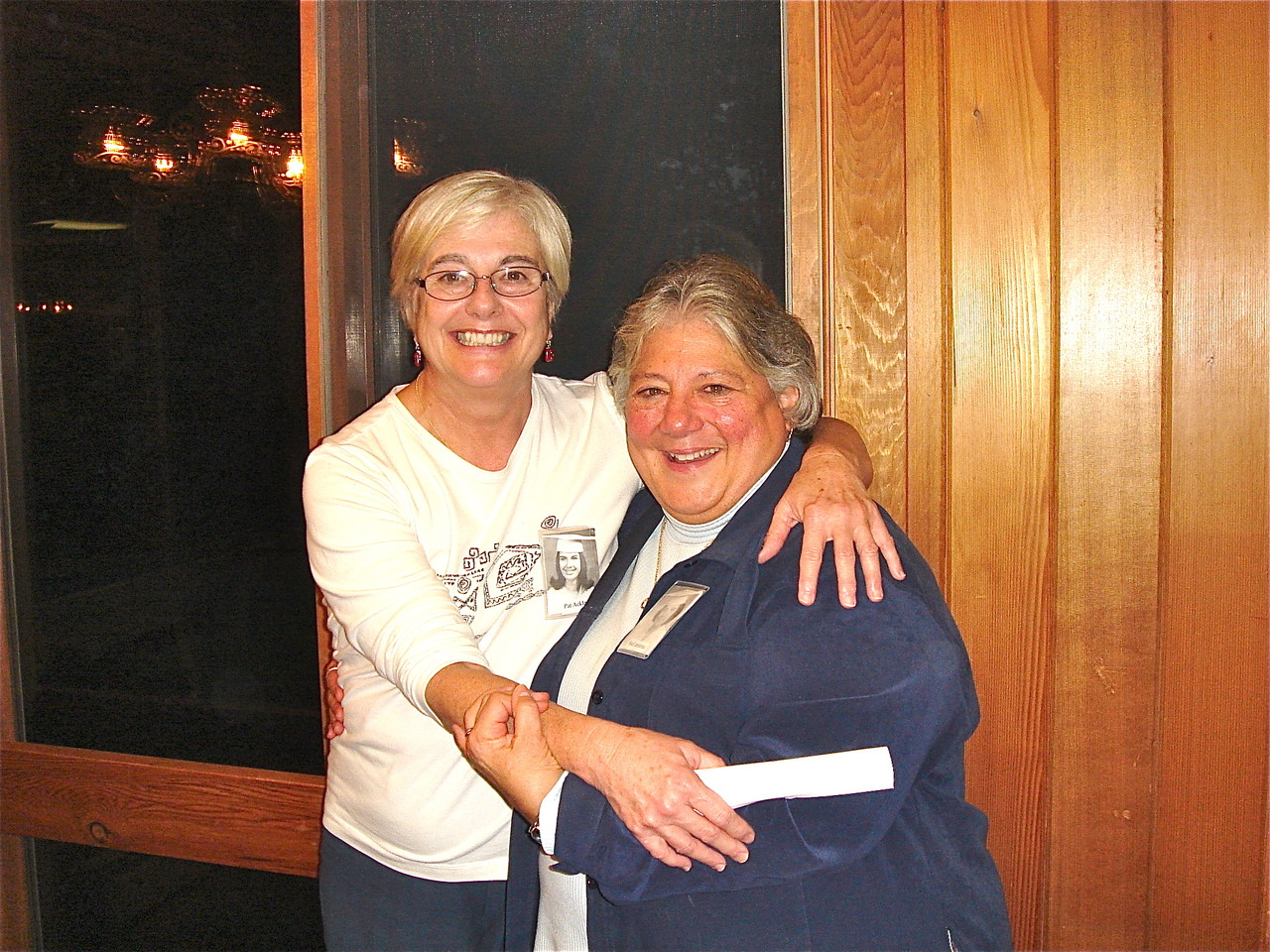 Pat Ackley & Susan Lamanna, one of the organizers!