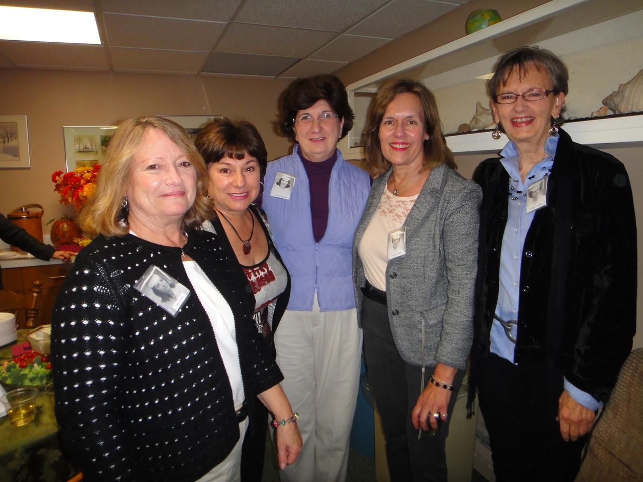 Cathy Krisak, Joanne Giambattista, Elva Accarino, Lorraine Gudas, Ellen Golden