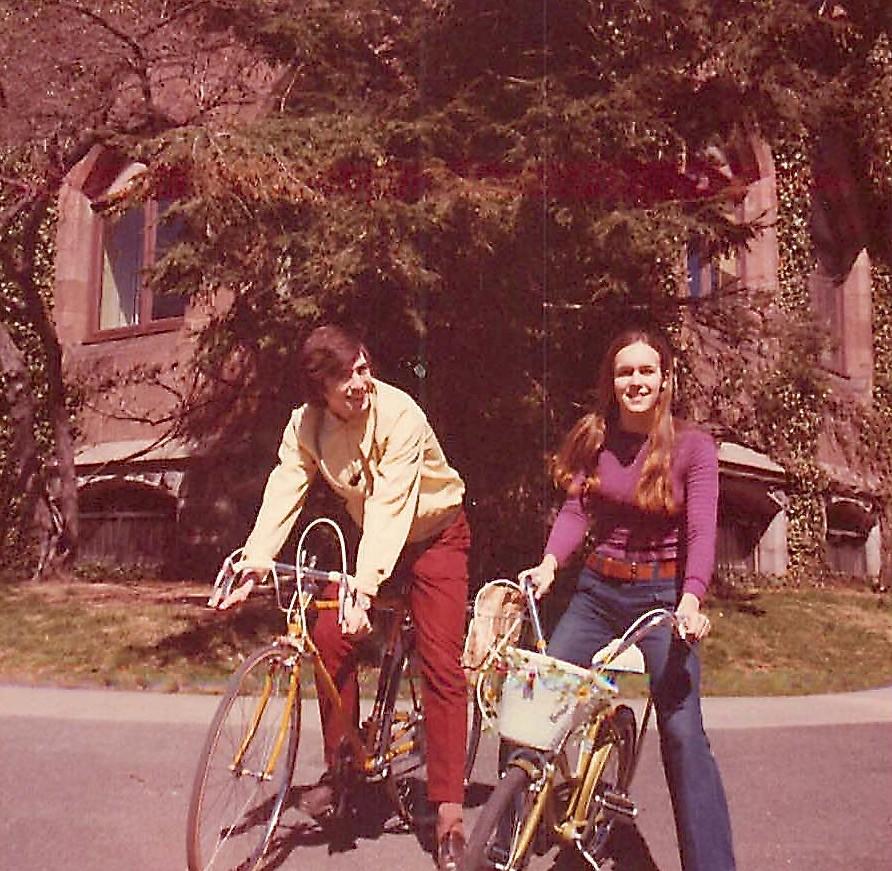 John Wagner, Lorraine Gudas, Princeton Univ. 1973