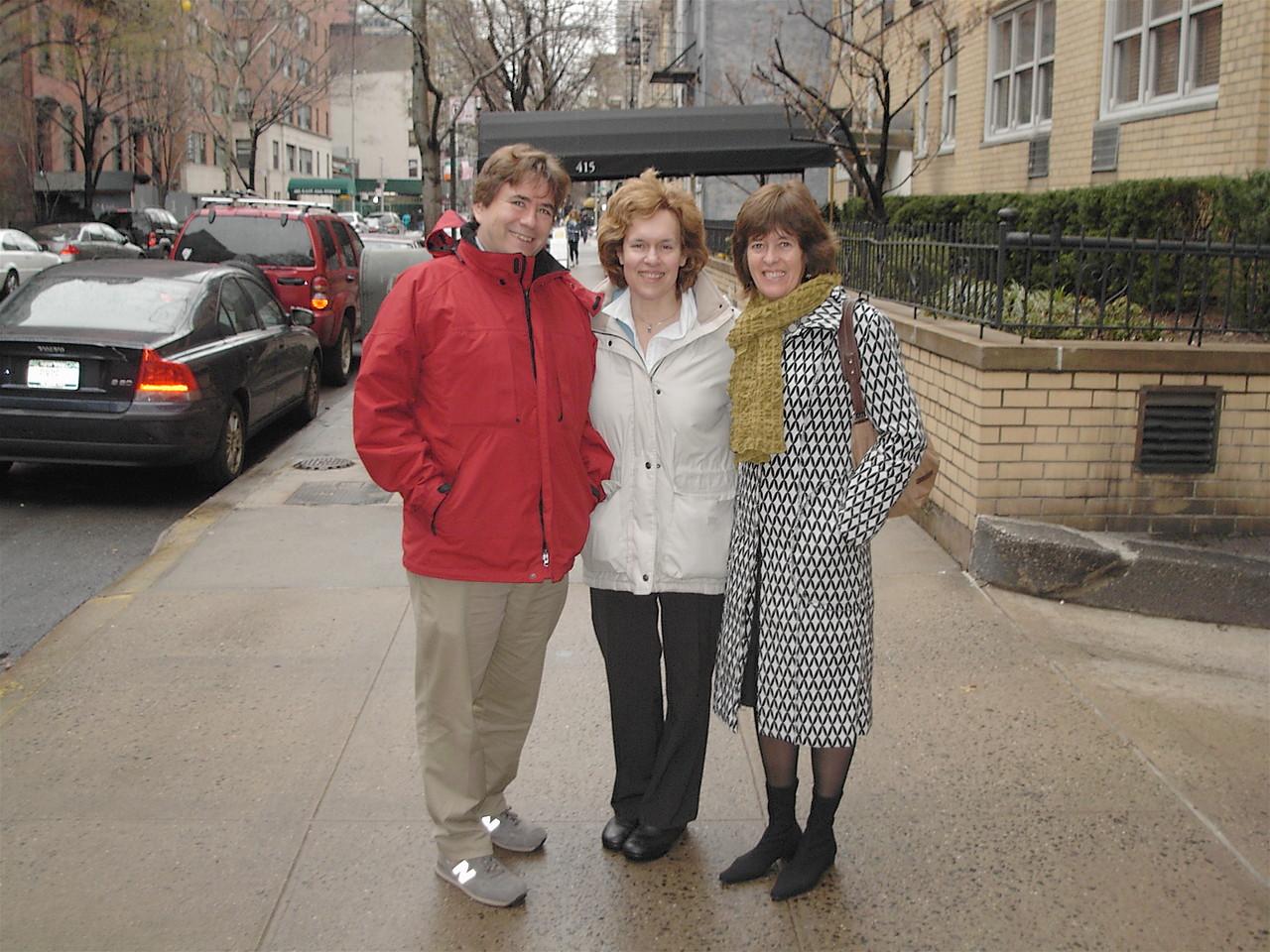 John, Lorraine, & Nancy  2006  NYC