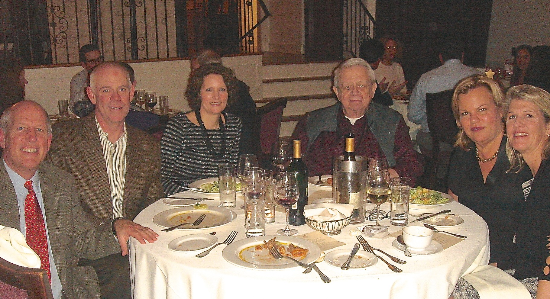 Scott Gaulocher, Colin Jr, Lisa, Colin Sr., Celeste, & Scott's wife Ann