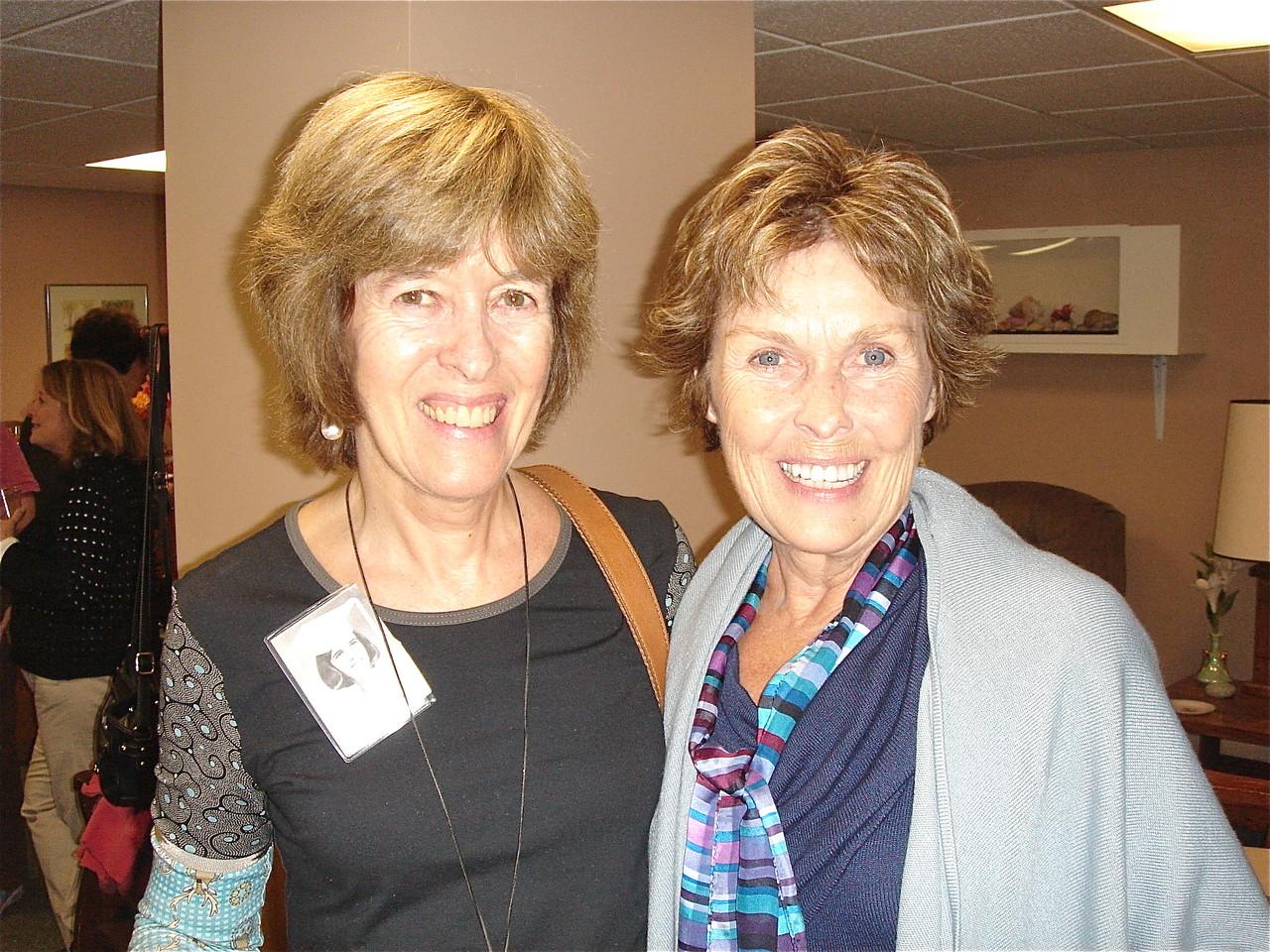 Nancy Hynes & Janet Hovey