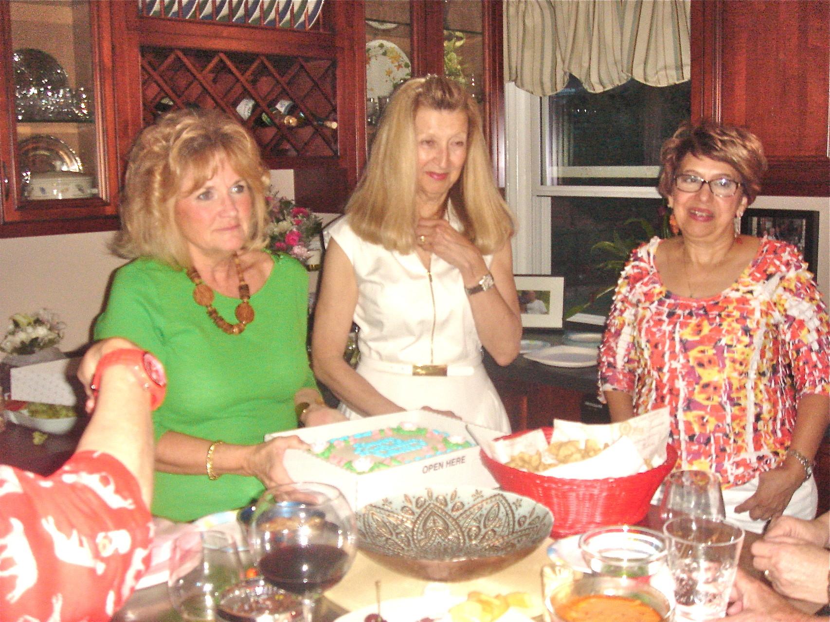 Suzi, Tricia, & Maria