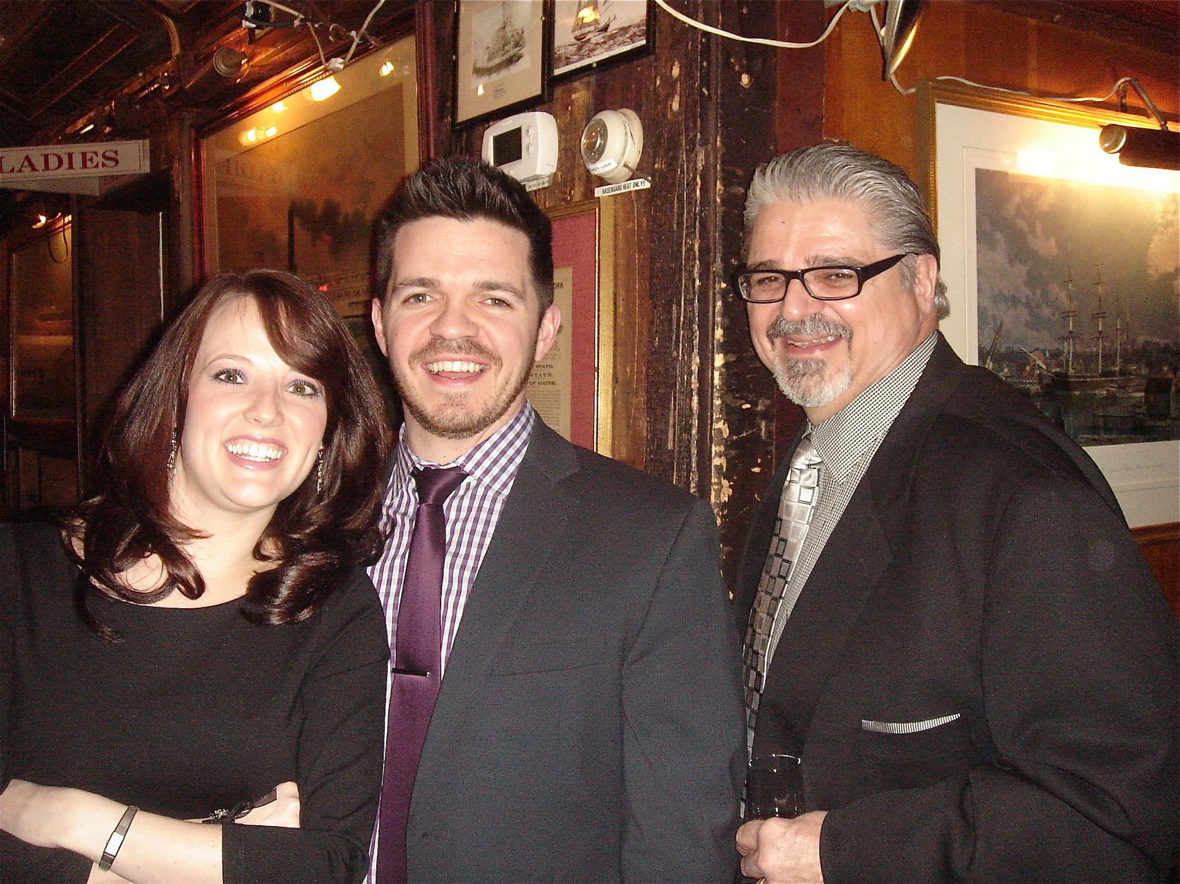 Meghan, Robert, & Robert Tringale