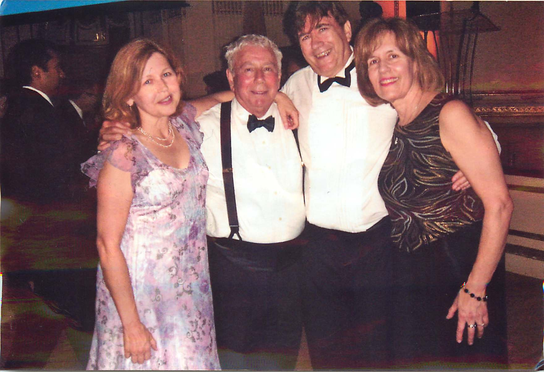 Barbara, Don, John, & Lorraine at Weill Cornell  ~2011