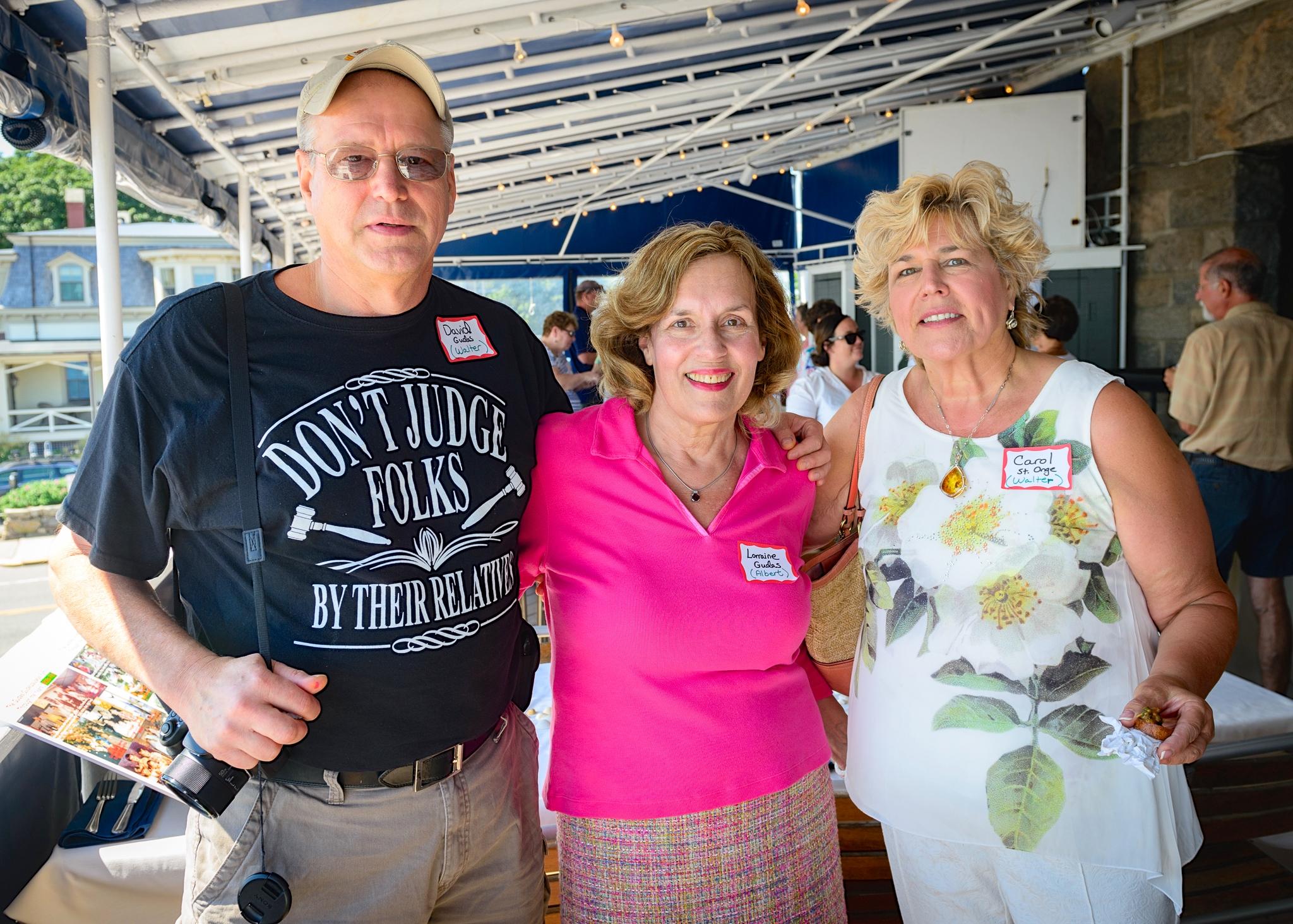David, Lorraine, & Carol