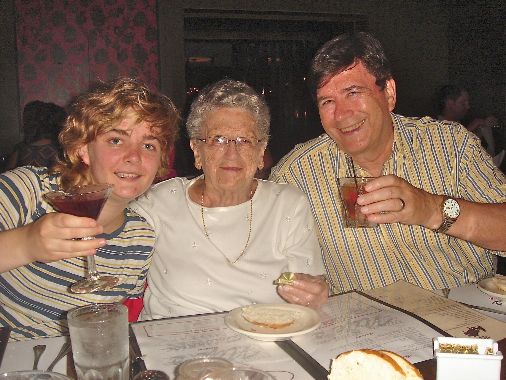 Kathleen Ackerman, Mary Lou Wagner, & John Wagner