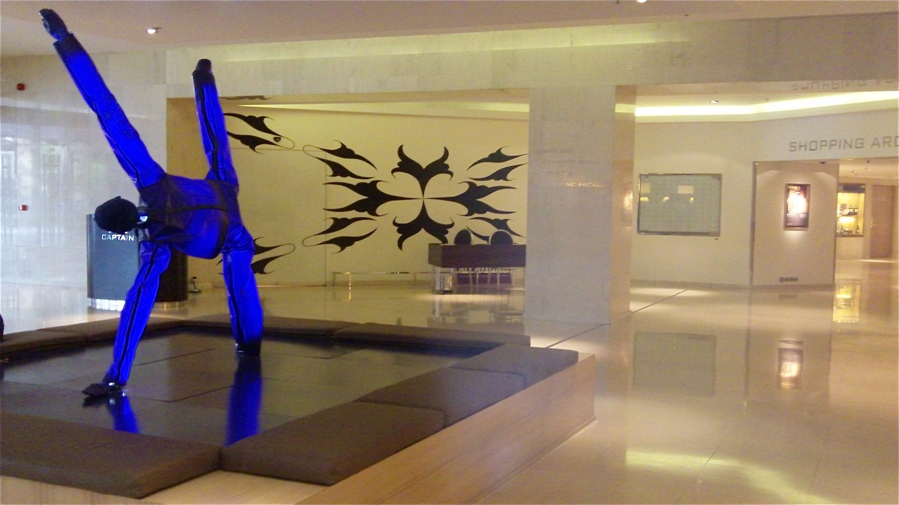 Sculpture at our hotel, Intercontinental Atheneum Athens!