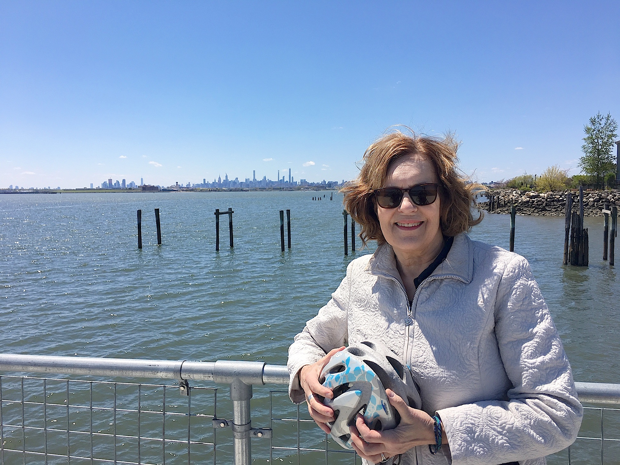 John's Bday, May 13, 2020  Soundview NY.. We took the ferry there!