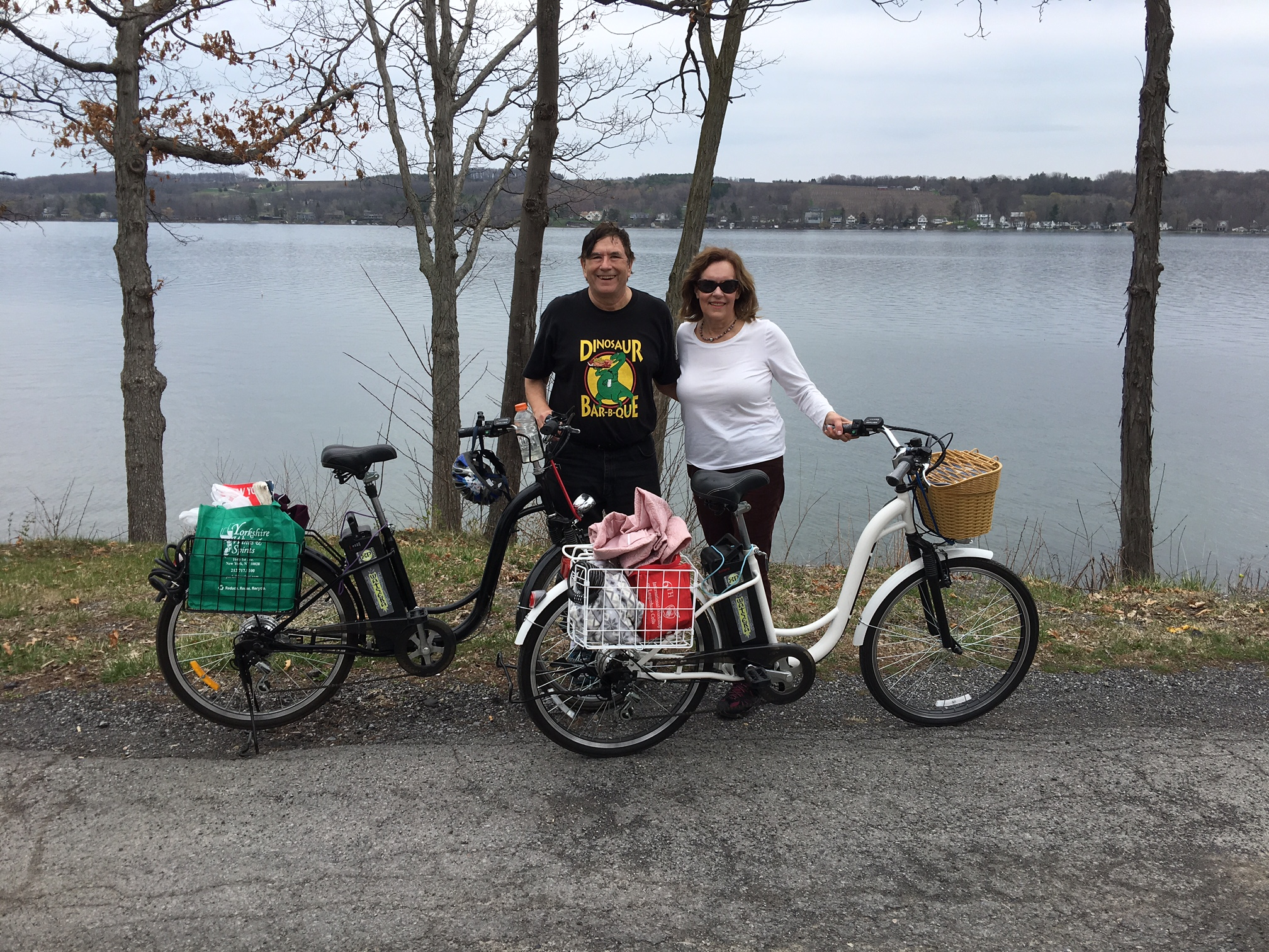 John & Lorraine, Keuka Lake, April 15, 2017
