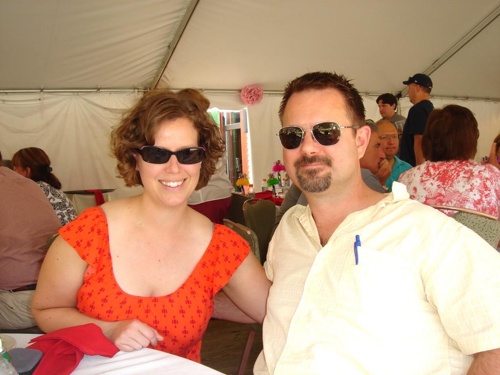 Meghann & Max, her partner
