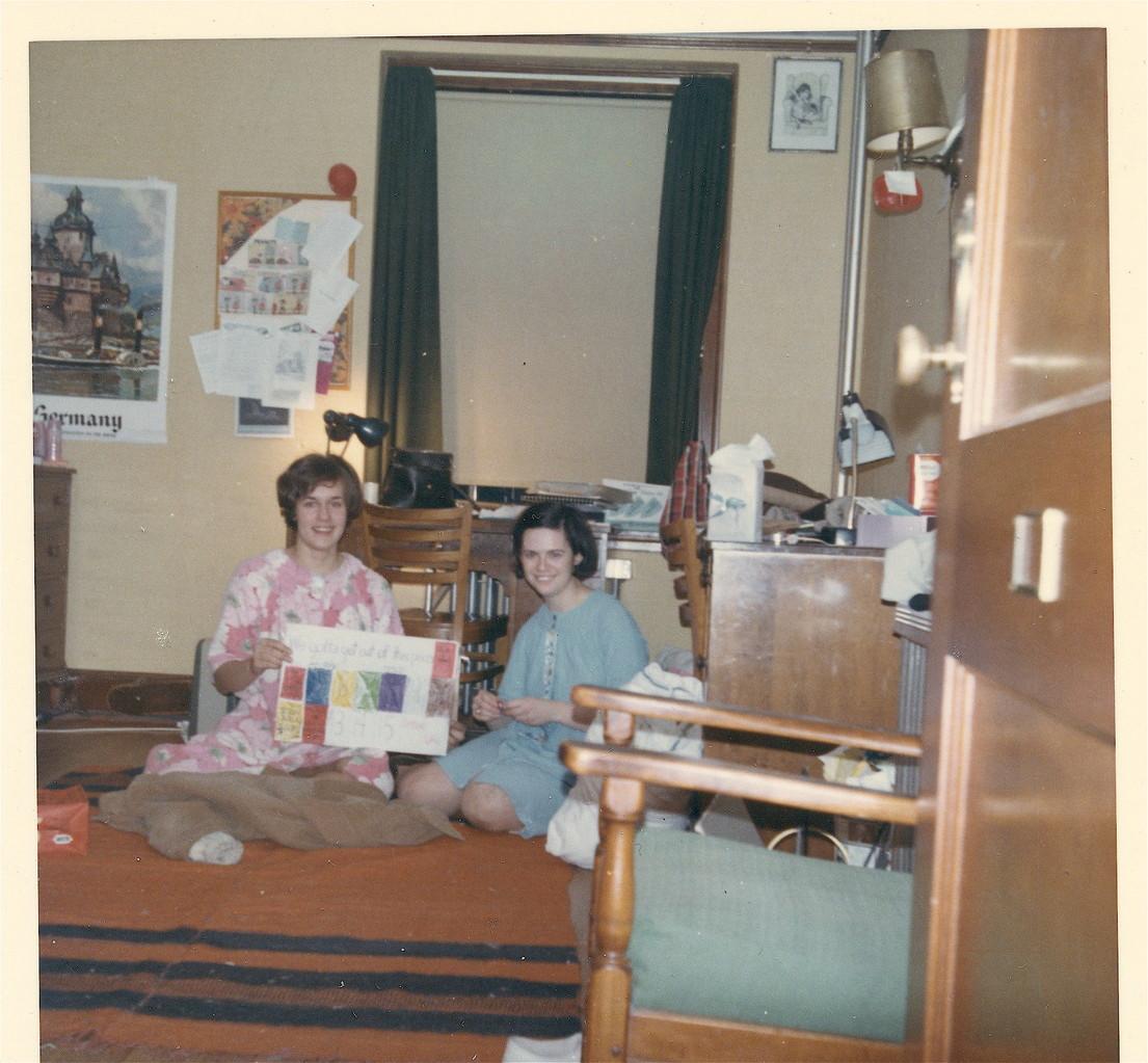 Lorraine Gudas & Mary Ann Donahue, 1967, Laura Scales House