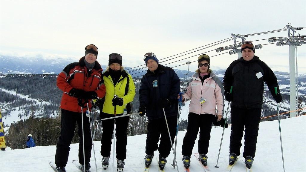 Jack, Celeste, John, Lorraine, Greg