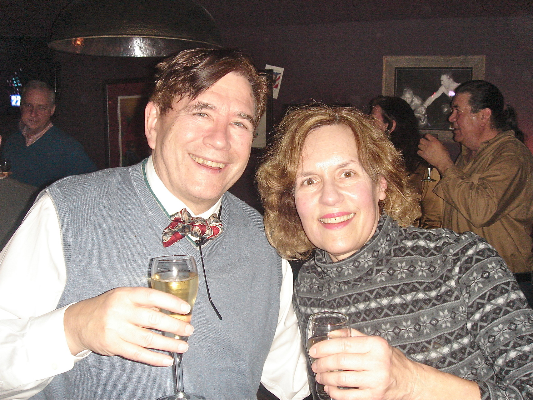 John & Lorraine New Years Eve, 2014, The Ridge Tavern, Chittenango, NY near Syracuse