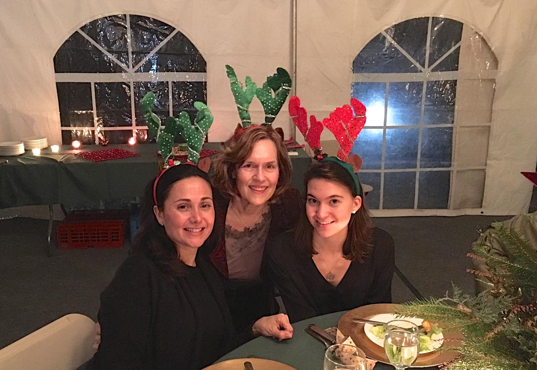 Allie, Lorraine Gudas, & Ellie